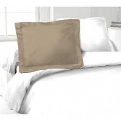 LOVELY HOME Lot de 2 Taies d'Oreillers 100% coton 50x70 cm -