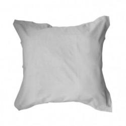TODAY Taie d'oreiller 100% coton - 75x75 cm - Zinc