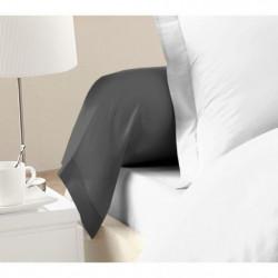 LOVELY HOME Lot de 2 Taies de Traversin 100% coton 85x185 cm