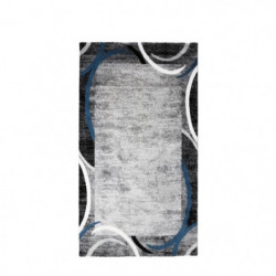 SUBWAY ENCADRE Tapis de couloir en polypropylene - 80 x 150