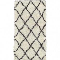 ASMA Tapis de couloir Shaggy - Style berbere - 80 x 140 cm 87056