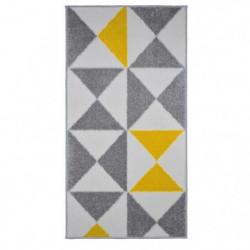 FORSA Tapis de couloir en polypropylene - 60 x 110 cm - Jaun