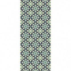 Tapis de cuisine carreaux de ciment 67x140 cm