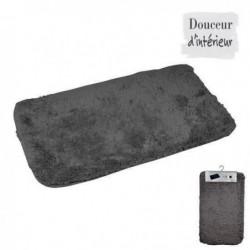 Tapis de bain 100% coton 45x75 xm Anthracite