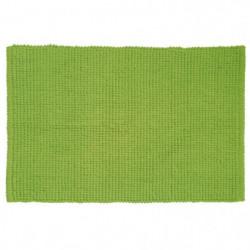 GIPSY Tapis de bain - Polyester microfibre - 40x60 cm - Vert