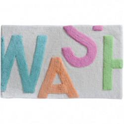SPIRELLA Tapis de bain WORD WASH 50x80 cm Multicouleur