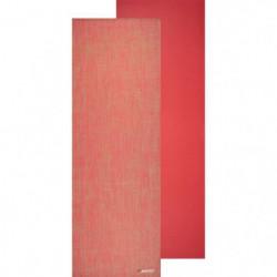 AVENTO Tapis de yoga finition jute 6 mm - Corail