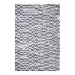 AGADIR Tapis de salon ou de couloir - 90 x 130 cm - 100% cot