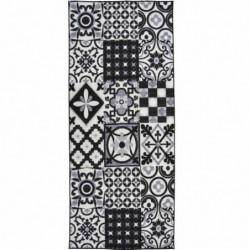 UTOPIA Tapis de couloir 67x180cm Noir