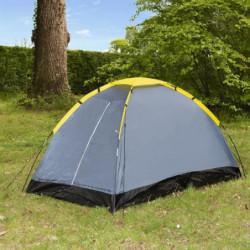 Tente de camping Dôme - 2 places - Gris