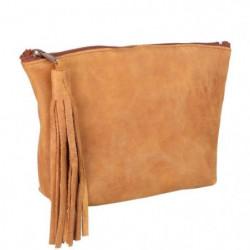 ELBA Trousse - 1 Compartiment - 17 cm - Camel - College & Ly
