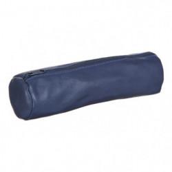 ELBA Trousse - 1 Compartiment - 22 cm - Bleu encre - College