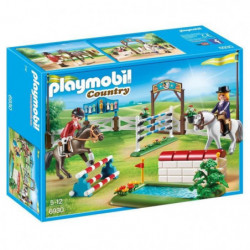 PLAYMOBIL 6930 - Country - Parcours d'Obstacles a Cheval