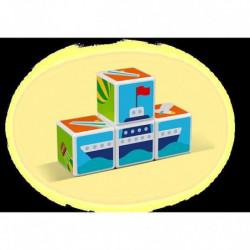 MAGICUBE - Transports (4 cubes)
