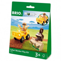 BRIO World  - 33865 - Pochette Decouverte Safari - Jouet en