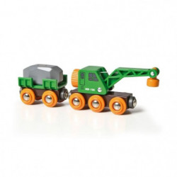 BRIO World  - 33698 - Wagon Grue Ingenieux