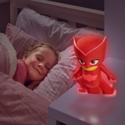 PYJAMASQUES Veilleuse et lampe torche GoGlow Buddy - Rouge