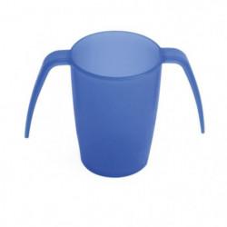 VITILITY - Gobelet ErgoPlus - Aide a la préhension - Blue