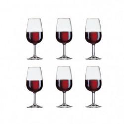 ARCOROC VITICOLE Lot de 6 verres a pied 21,5 cl transparent