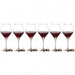 RECEPTION Lot de 6 Verres a vin Dégustation REVERIE 50 cl