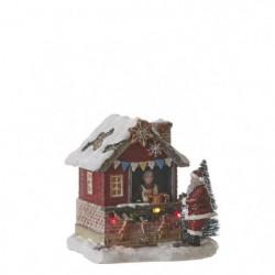 Village de Noël - Kiosque a gâteau a pile - Polyrésine - 12x