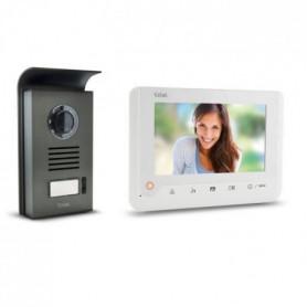 EXTEL Visiophone Nova 2 fils blanc avec écran couleur