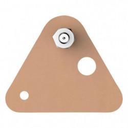 TESA Vis adhésives triangulaires - Pour brique & pierre - Ch