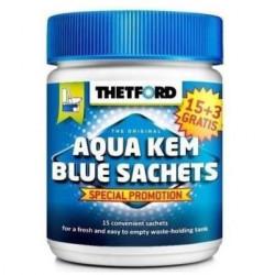 THETFORD Sachets Aqua-Kem bleu - Traitement des toilettes -