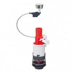 WIRQUIN Mécanisme de WC MD² - Simple poussoir a câble