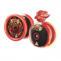 BLAZING TEAM Yo-yo Maître Morphose Niveau 3 - Scarlet Lion S