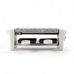 LIVOO  DOC156W Appareil a raclette 2 personnes - Blanc