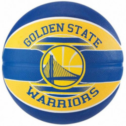 SPALDING Ballon de basket-ball NBA Team Golden State - Bleu