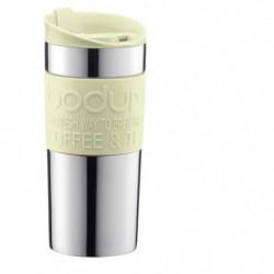 BODUM TRAVEL MUG Mug de voyage isotherme - Inox double paroi