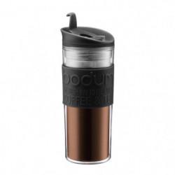 BODUM TRAVEL PRESS Mug de voyage 0,45 L noir