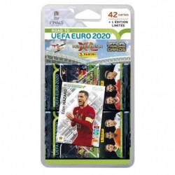 ROAD TO UEFA EURO 2020 TCG Blister 7 pochettes + 1 carte