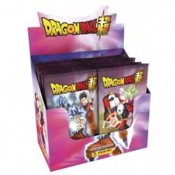 DRAGON BALL SUPER TC Boite de 24 pochettes de stickers