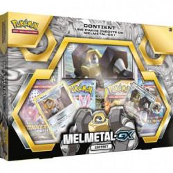 POKEMON - Coffret Pokémon MELMATEL GX - 4 Boosters + 1 carte