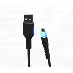 Câble de recharge 3m Micro USB Supersoft avec LED pour PS4