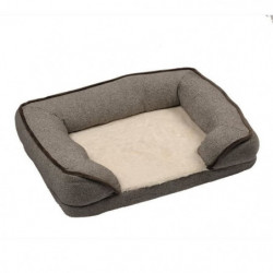 DUVO Sofa Snuggle - 70x50 cm - Brun - Pour chien