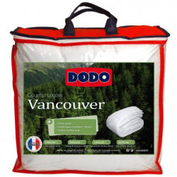 DODO Couette légere Vancouver - 220 x 240 cm - Blanc