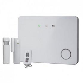 SMARTWARES Pack alarme maison GSM connectée évolutif