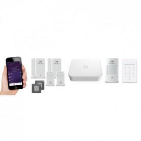 NEW DEAL Pack Alarme maison WIFI / LAN /GSM