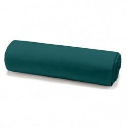 TODAY Drap housse 100% coton - 160 x 200 cm - Vert émeraude