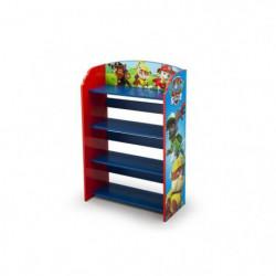 PAT PATROUILLE - Bibliotheque Enfant - Bleu et Multicolore