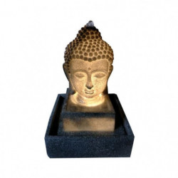 Fontaine lumineuse Bouddha - 3 LED - 27 x 27 x H41 cm