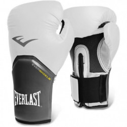 EVERLAST Gants de boxe Pro Style Elite - Mixte - Blanc - 14 Oz