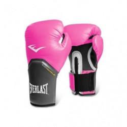 EVERLAST Gants de boxe Pro Style Elite - Avec velcro - Rose