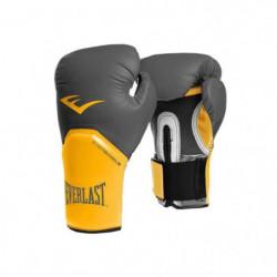 EVERLAST Gants de boxe Pro Style Elite - Avec velcro - Gris