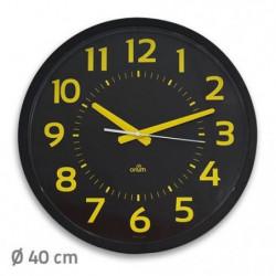 Horloge ORIUM Contraste - Silencieuse - 40 cm