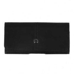 Façonnable - Housse ceinture aspect cuir grainé